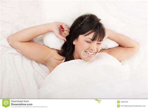 In Bed by Lazy In Bed Stock Photo Image Of Open