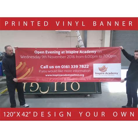 design vinyl banner printed vinyl banners design your own the sign designer