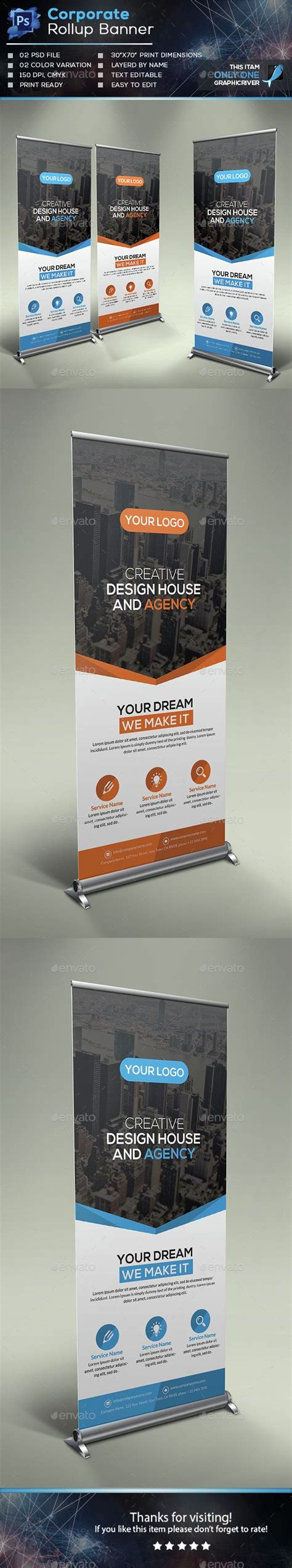 25 Best Retractable Banner Ideas On Pinterest Retractable Banner Template