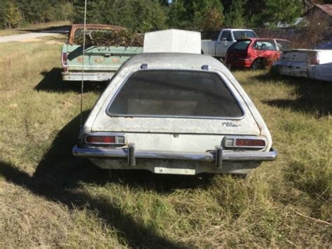 ford pinto  engine complete rusty car  title
