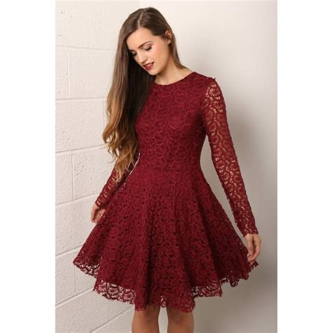 Dress Maroon Jersey best 25 maroon sleeve dress ideas on