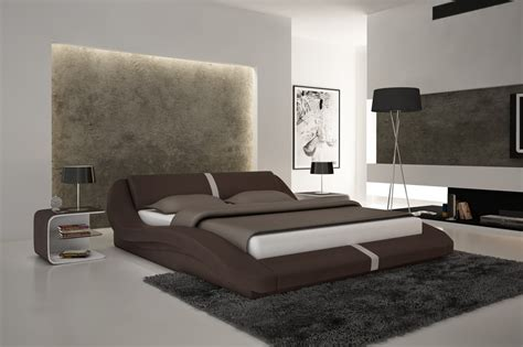 modern leather beds modern leather beds