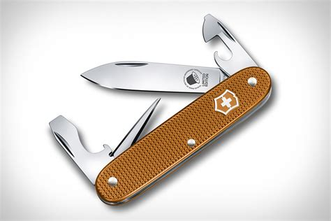 swiss knife company victorinox swiss army pioneer nespresso knife uncrate