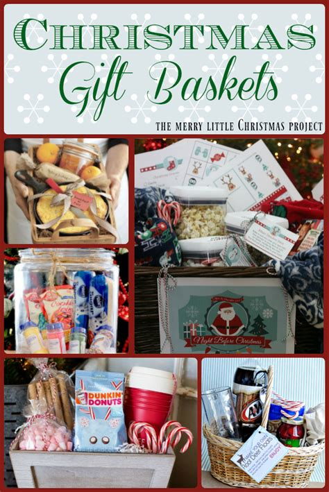 rule   gift ideas themed gift baskets  merry  christmas project