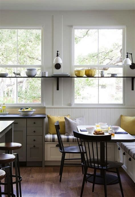 kitchens with banquettes 7 favorites under the bench kitchen storage remodelista