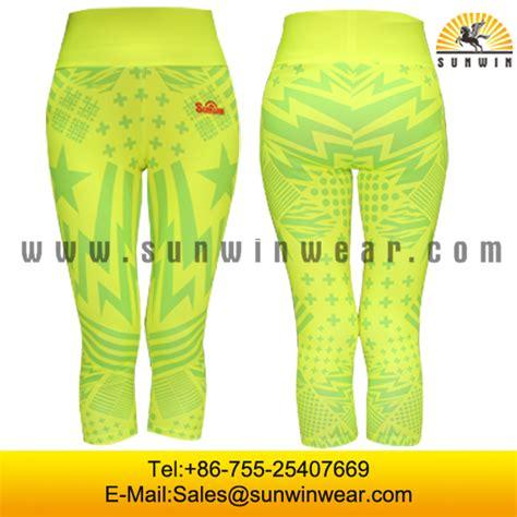 custom pattern yoga pants custom design colorful pattern yoga pants printed