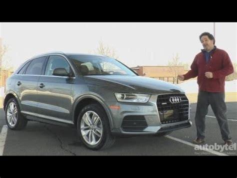 Audi Q3 Test Video by 2016 Audi Q3 Premium Plus Quattro Test Drive Video Review