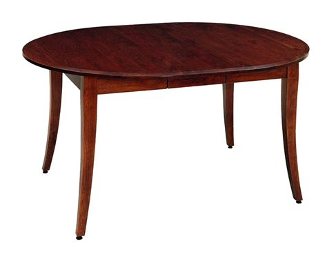 self storing amish dining table with two leaves