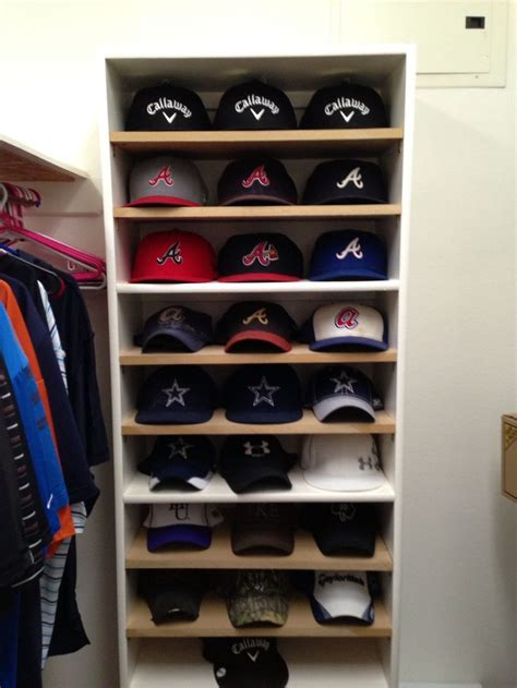 Hat Rack Ideas by 17 Best Ideas About Baseball Cap Rack On