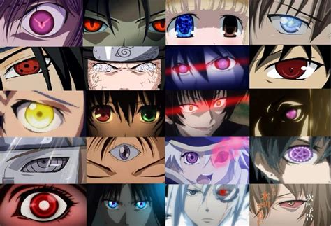 eye powers or body powers anime amino