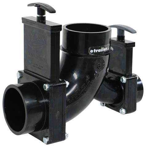 Rv Plumbing by Rv Waste Valves Rotating 3 Quot Spigot And