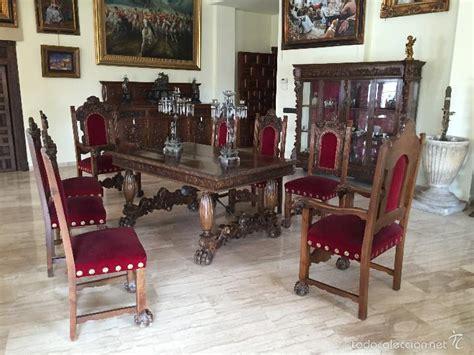 comedor antiguo renacimiento nogal comprar mesas