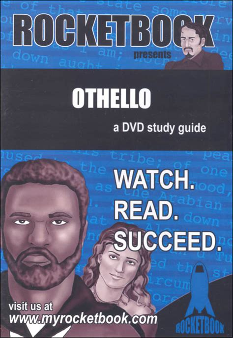 defiant study guide with dvd what happens when you re of it books othello rocketbook study guide dvd 060770 details