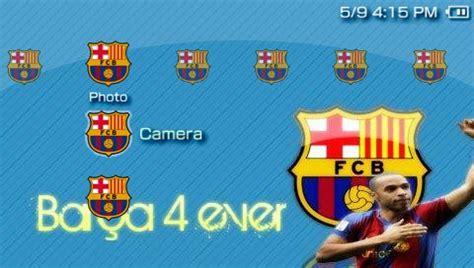 Theme Psp Barca | barcelona psp theme psp themes