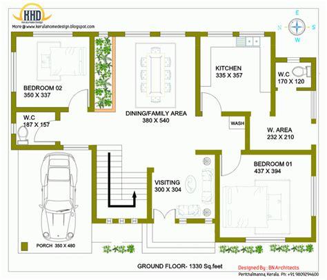 ground house house ground floor plans design modern european home house