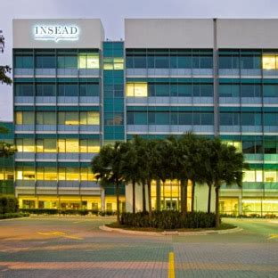 Insead Mba Admissions Contact by School Insead Blackman Consulting Mba Admissions