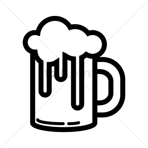 cartoon beer black and white glass of beer clipart cliparts galleries