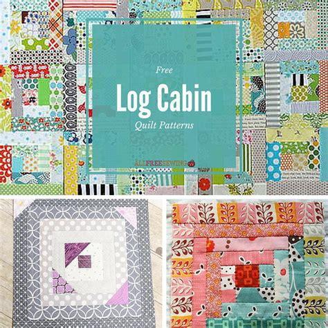 Log Cabin Patchwork Quilt Patterns - 37 free log cabin quilt patterns favequilts