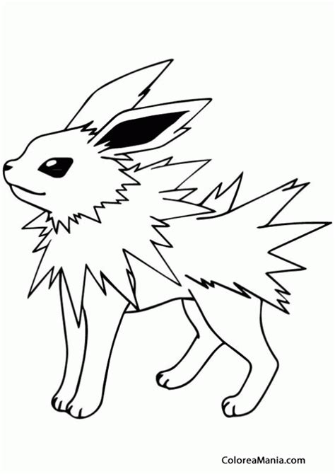 pokemon coloring pages jolteon pokemon jolteon pokemon sitting down images pokemon images