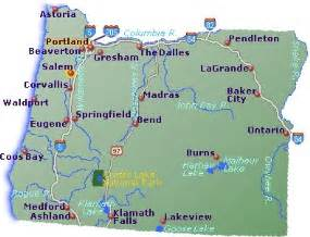 Favorite towns oregon maps of oregon cities and towns