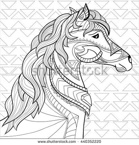 The Colorful Antistress Coloring Book coloring page book antistress children stock vector