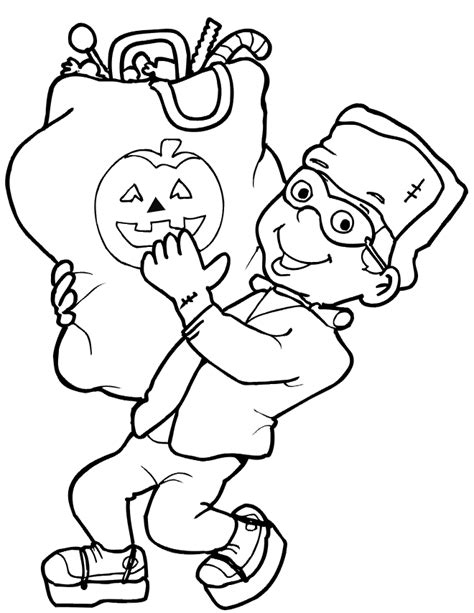 Halloween Coloring Pages Dr Odd Haloween Coloring Pages