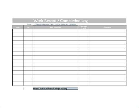 sheets template form free tracking log and freewordtemplatesnet