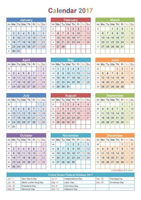 Calendar By Week Number Week Numbers 2017 Calendar Free Calendar 2017 2018