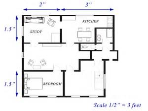 floor plan scale read and interpret scale drawings and floor plans ck 12