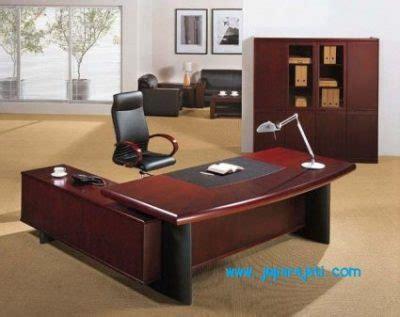 Meja Kantor Terbaru set meja kantor minimalis terbaru jepara jati