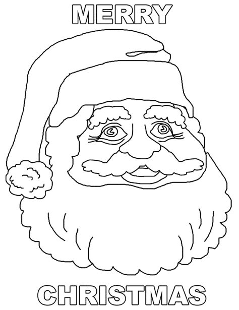 Free Printable Merry Christmas Coloring Pages Merry Printable Coloring Pages