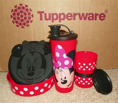 Tupperware My Pony Lunch Set new tupperware minnie s magical snack set minnie mouse lunch 4pc i