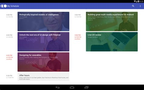 android layout design best practices source code released for google i o 2014 app demonstrates