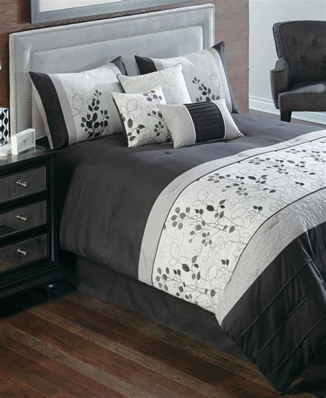 california king bed in a bag sets penelope 7 piece california king embroidered comforter set