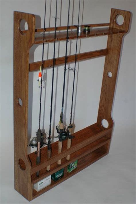25 best ideas about fishing rod rack on rod