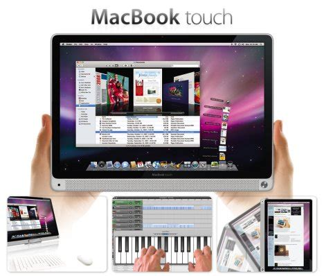 apple rumors apple macbook touch rumor ubergizmo