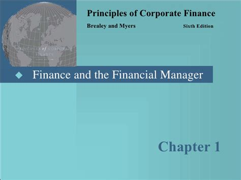 Quizlet Corporate Finance Mba Program Chapter 8 by Principles Of Corporate Finance Slides