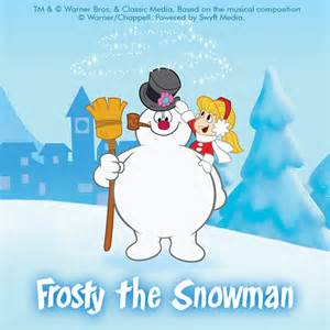 frosty snowman clipart amp backgrounds