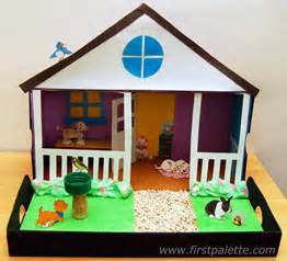 Crafts For Kids In The Summer - pet diorama craft kids crafts firstpalette com