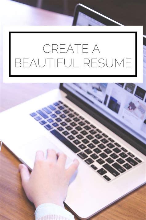create a beautiful resume career contessa ambassadors by