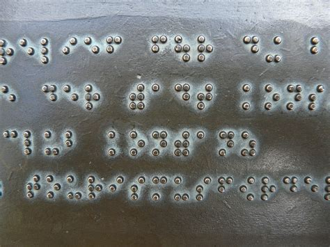 How Do Blind Find Braille Signs Why Learn Braille As An New Low Vision