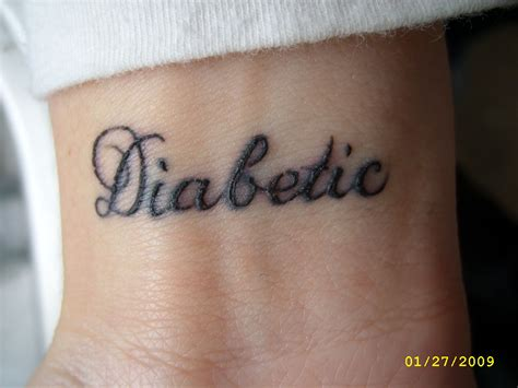 diabetes tattoos diabetic tattooed up