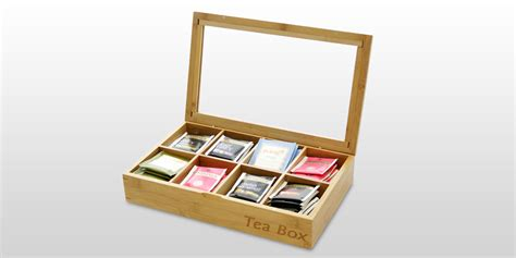 Kitchen Knives Set Reviews by Tea Caddy Tea Box Bamboo Kitchen Storage Solutions