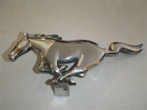 nos oem ford 1966 mustang standard grille ornament emblem pony corral ebay sell ford mustang grill emblem 1965 galloping original oem fomoco auto part motorcycle in