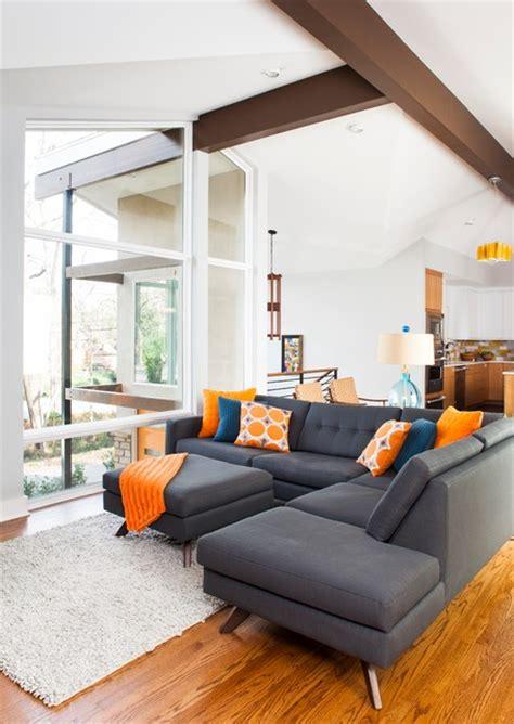 fashionable grey sofas  underlines   white