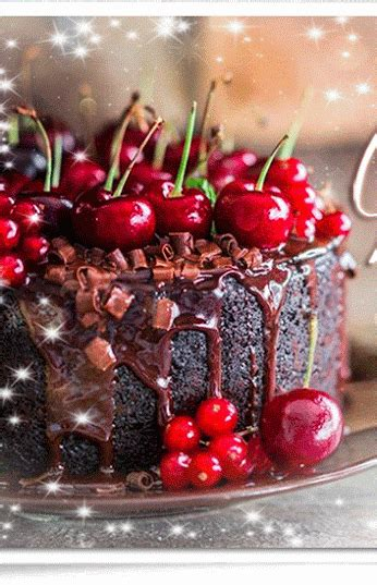 cherry chocolate holiday cake pictures   images  facebook tumblr pinterest