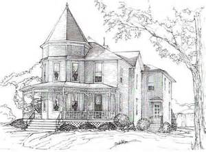 gallery for gt old victorian houses drawing house drawings in pencil drawing pencil