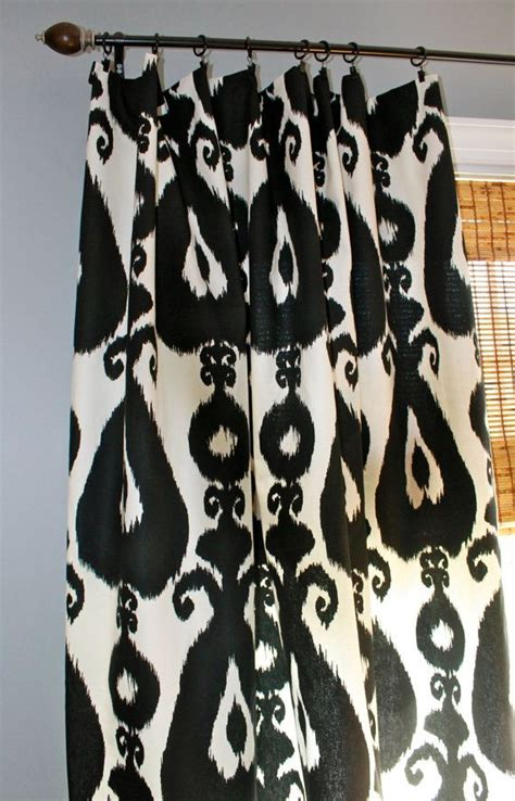 White Ikat Curtains 17 Best Images About Curtains Bedding Pillow Ideas Curtain Design On Window