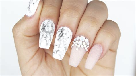 how to gel marble nails - Nail By