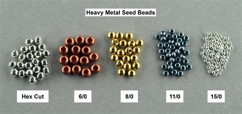 bead sizing seed bead manufacturers variations k landy